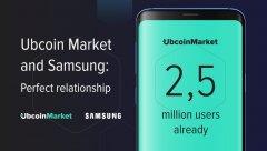Ubcoin Market和三星:一种良好的合作伙伴关系