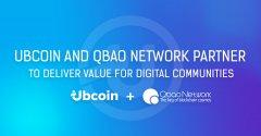Ubcoin和Qbao Network合作,聚焦为数字货币社区创造更大价值