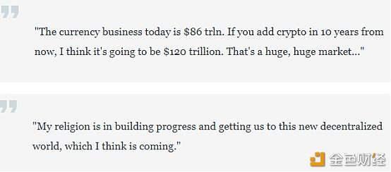 风投资本家:比特币会占货币市场的5% BTC价格将涨至25万美元