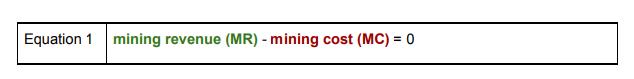 比特币安全与出块补贴奖励关系模型(Part 1)
