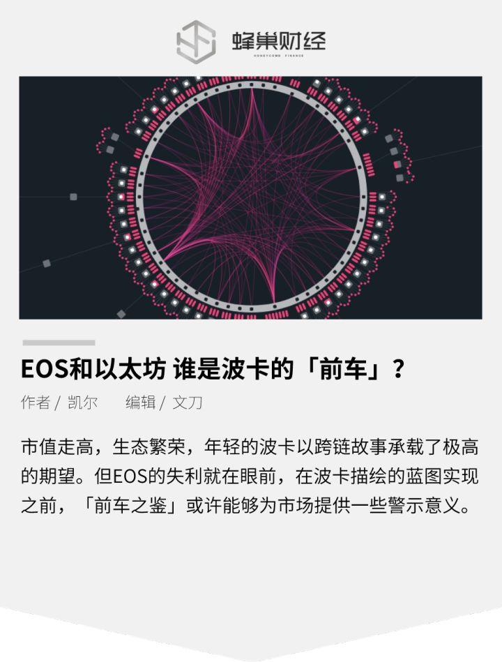 《【EOS和以太坊】波卡将步谁的后尘?EOS还是以太坊》