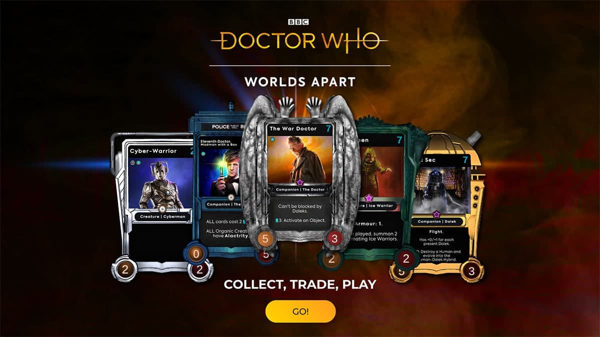 Doctor Who Worlds Apart NFT特卖