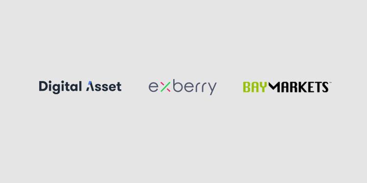 Digital Asset和Exberry帮助Baymarkets在其数字资产交易所增加清算