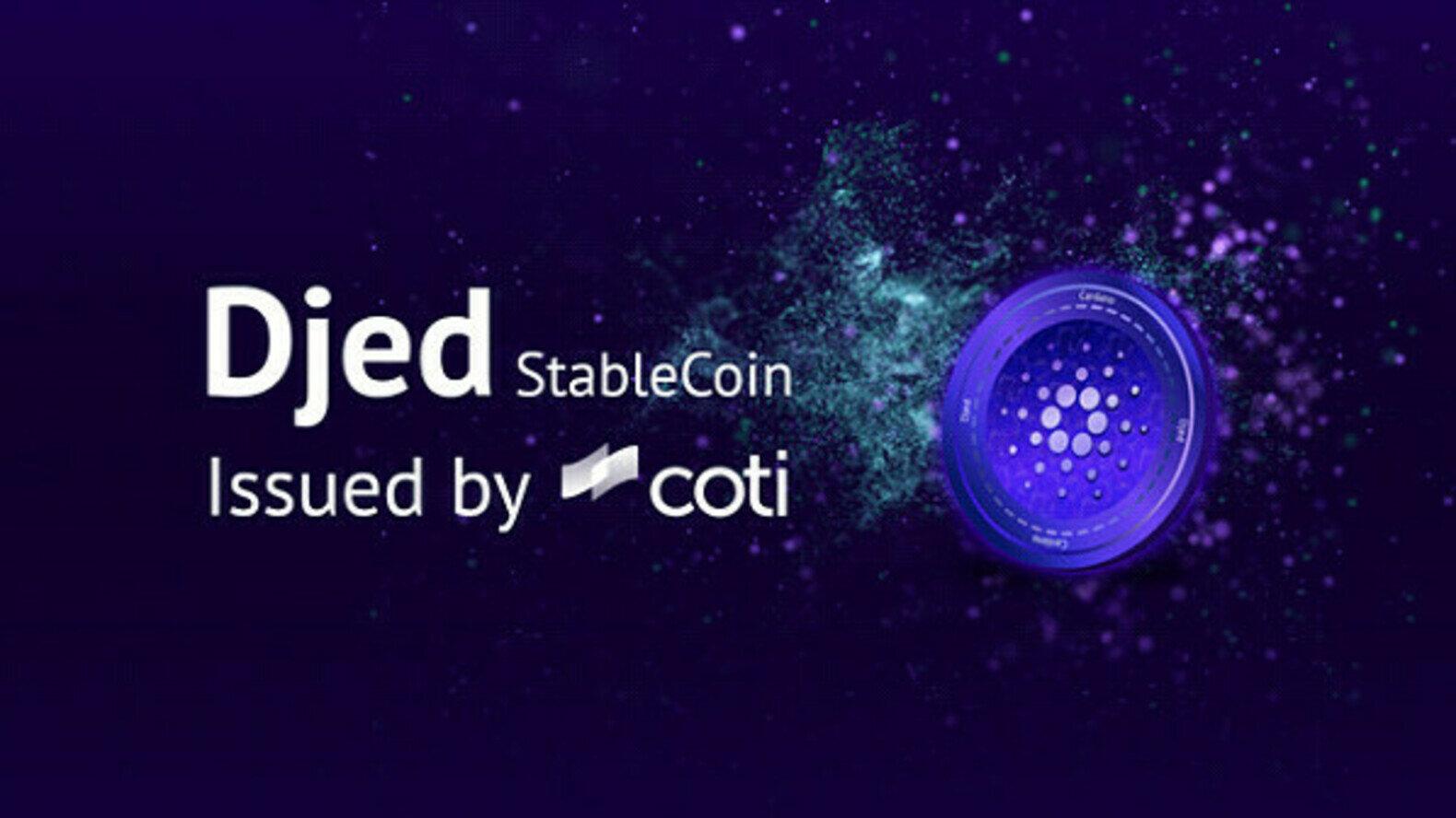 "COTI 将在 Casdfsrdasdfsno 上发行首个算法稳定币"""